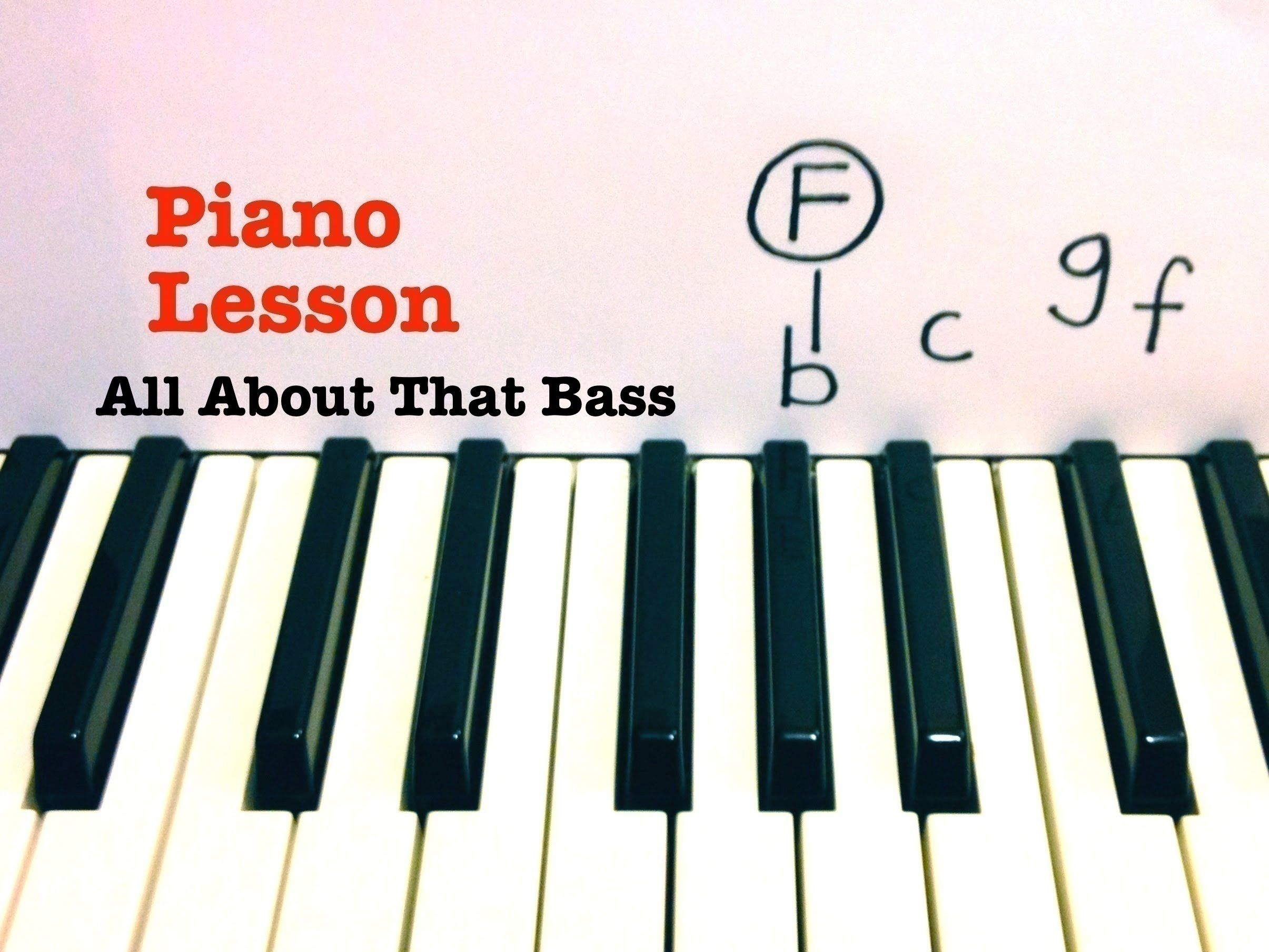 All about that bass piano lesson tutorial meghan trainor all about that bass piano lesson tutorial meghan trainor baditri Image collections