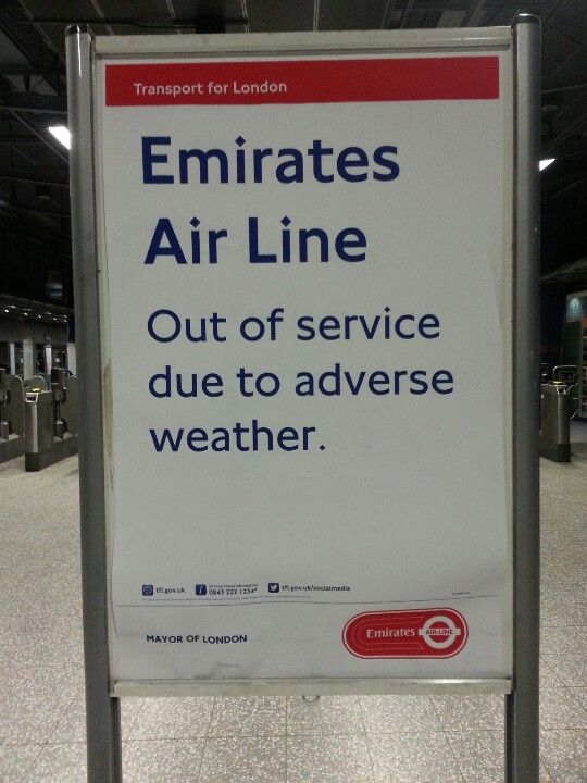 This is London!