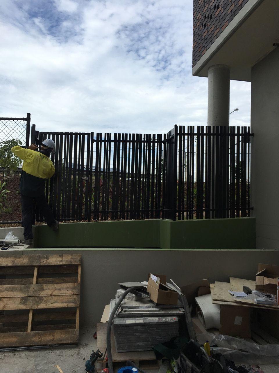 Smart Job Management Gate, Installation, Carport garage