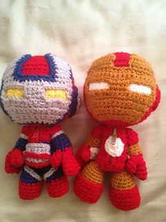 Iron patriot sackboy and iron man sackboy by nikki olida this iron patriot sackboy and iron man sackboy amigurumi patterns crochet dt1010fo