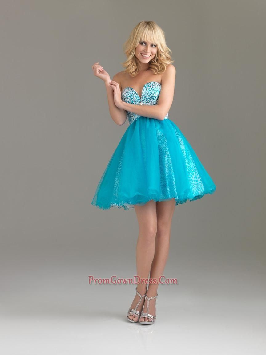 Cute short blue prom dress | Clothes | Pinterest | Short blue prom ...