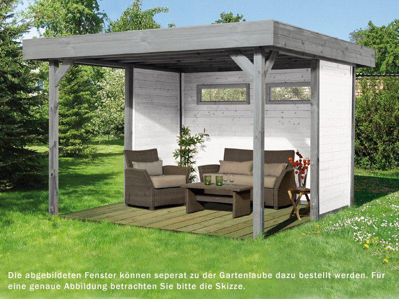 Gartenlaube Modern Decor Pinterest Gartenlaube - holz pergola garten moderne beispiele