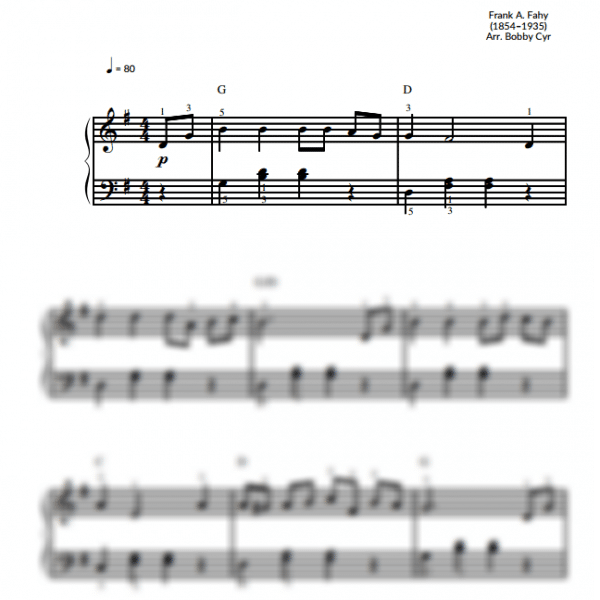 Easy Piano Sheet Music For Beginners / Piano