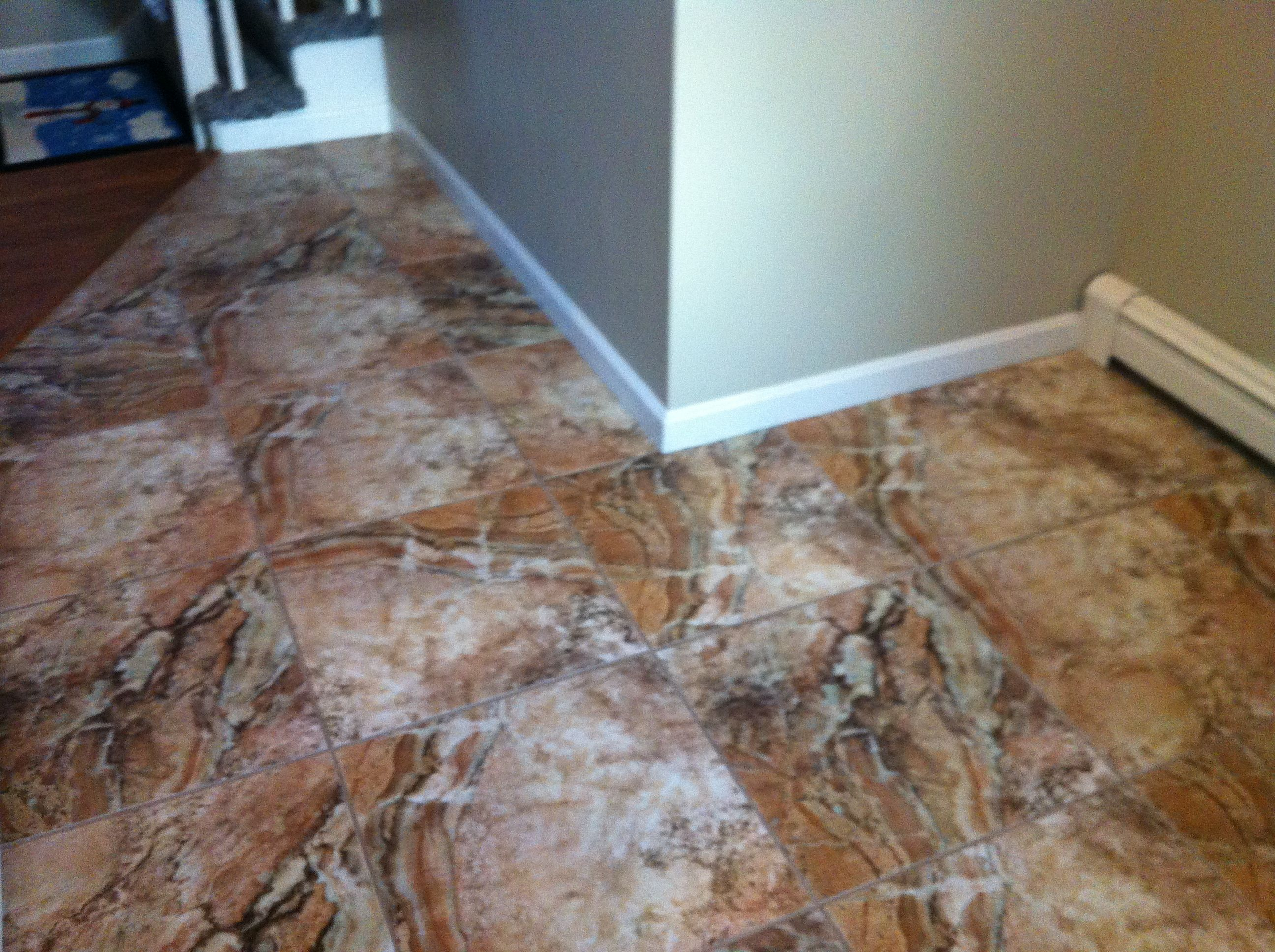 Porcelain tile that looks like marble ideas for the house