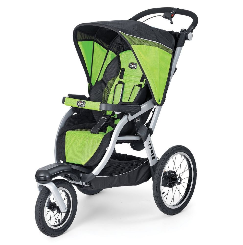 CHICCO TRE Performance Jogging Stroller Surge Green