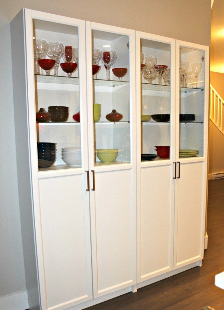 This is my IKEA billy bookcase solution to my kitchen pantry ...