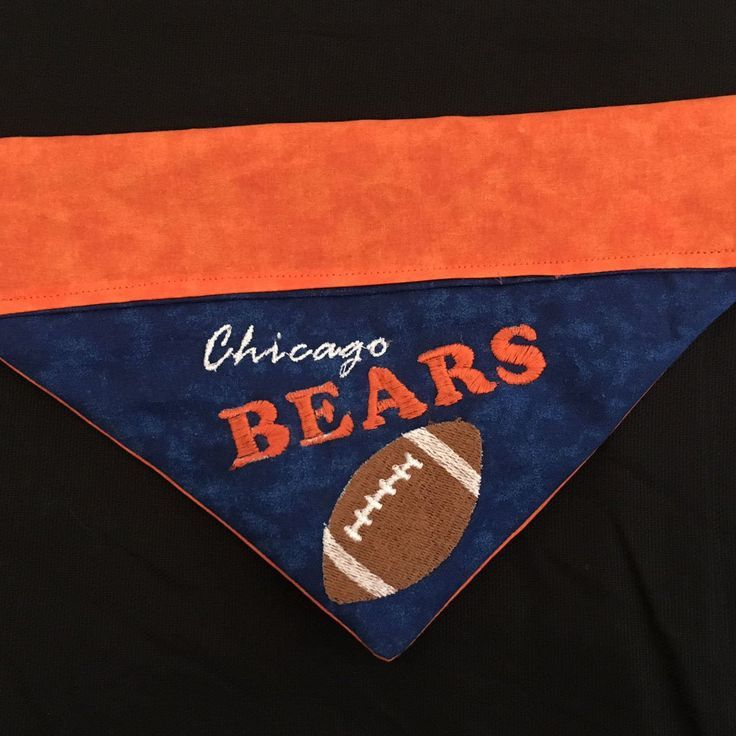 Chicago Bears / Over the Collar Dog Bandana Dog bandana