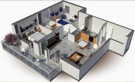 Plan Maison 3D - Logiciel gratuit pour dessiner ses plans 3D Art