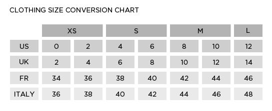 Sizing Chart Conversion: Clothing Size Conversion Chart | Sewing - Charts and Graphics rh:pinterest.com,Chart