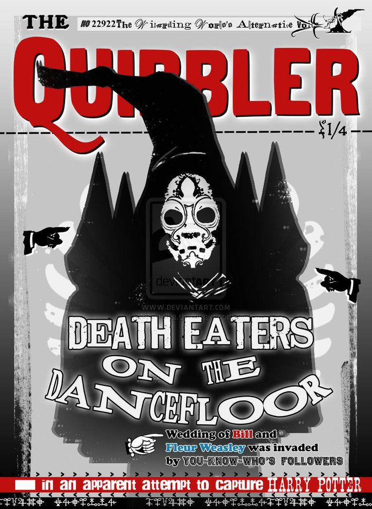 Quibbler : Death Eaters on the Dance Floor by ~jhadha ...Quibbler Printable