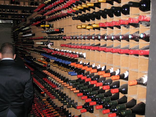 Bern S Steakhouse Wine Cellar Tampa Florida Largest Selection In