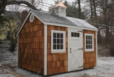 Best Cedar Shake Sided Storage Shed 8 In 2020 Cedar Shiplap Shed Cedar Shake Siding 640 x 480