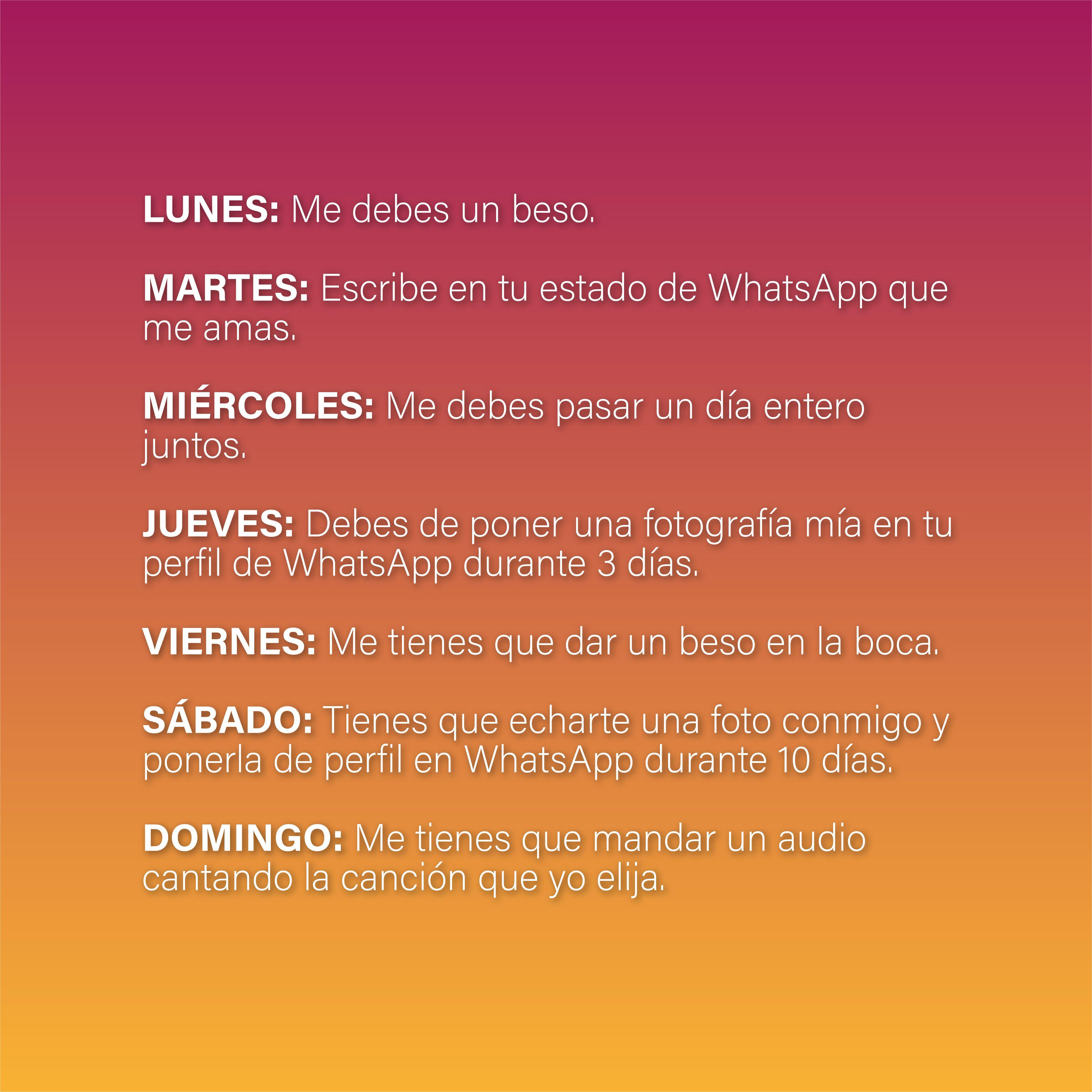 Cadenas Y Retos Para Whatsapp