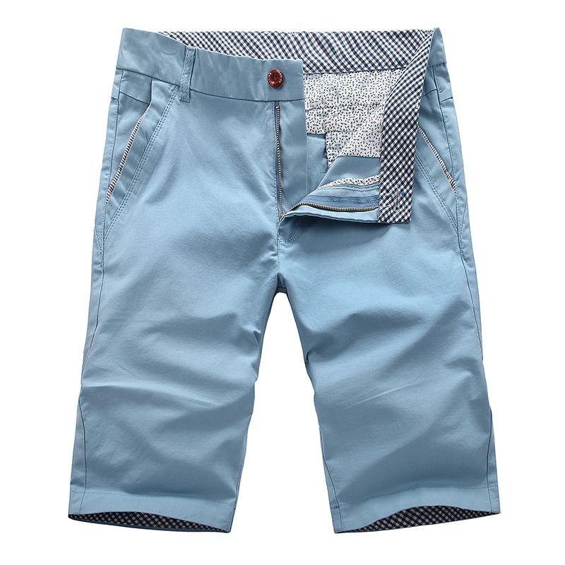 e930727698 Aliexpress.com  Compre Verão Shorts praia dos homens Shorts de algodão dos  homens Men Casual calças para homens macacão lavado bermuda Bermudas  Masculina de ...