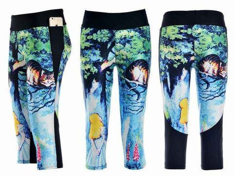 c9706aaf88569 Browse a full range of Colorful Workout Capris for Women at Lotus Leggings.  Athletic Capris are perfect for Running or Yoga.