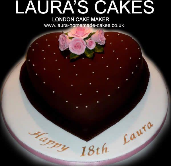 lauras cakes London UK hearts Pinterest