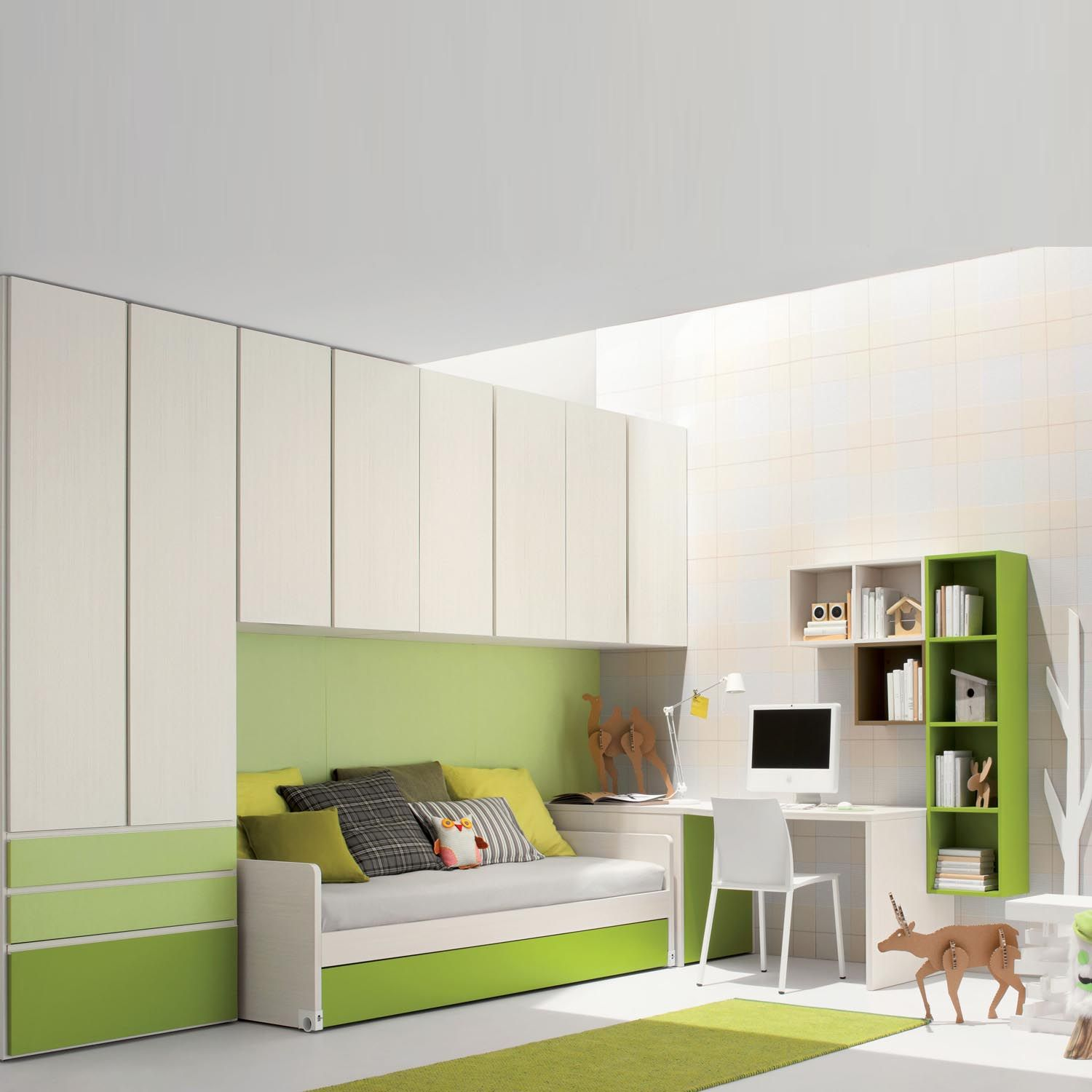 contemporary kids bedroom furniture green. Stackable Chairs Again You Can Use Minimum Amount Space Saving Bedroom Furniture Furniturea Contemporary Kids Green D