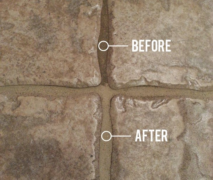 Grout Cleaner op Pinterest