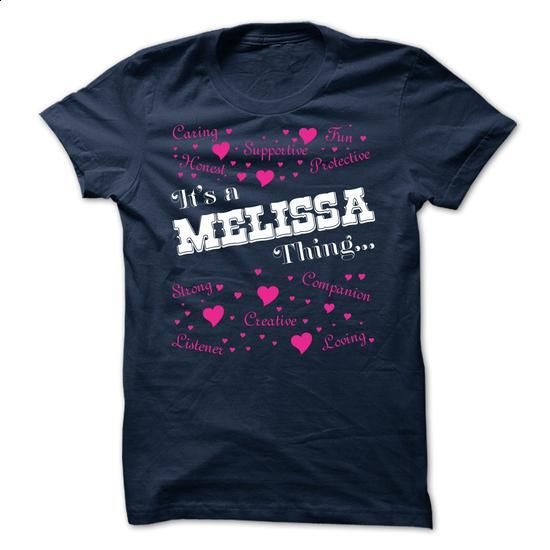 Its a Melissa thing - Limited Edition - #t shirts #polo shirt. ORDER NOW => https://www.sunfrog.com/Names/Its-a-Melissa-thing--Limited-Edition.html?id=60505