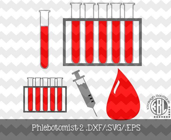 Phlebotomist-2 Design Pack INSTANT DOWNLOAD in  dxf/ svg