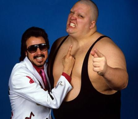 Image result for jimmy hart and king kong bundy