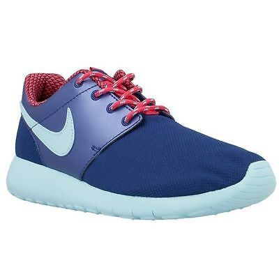 eb9d0215116e Nike Roshe One Gs Big Kids 599729-406 Blue Copa Pink Roshe Shoes Youth Size  6.5