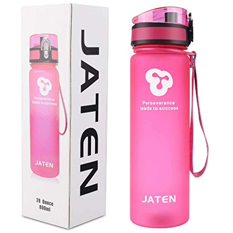 JATEN 1Click Open Leak Proof Flip Top Lid Sports Water