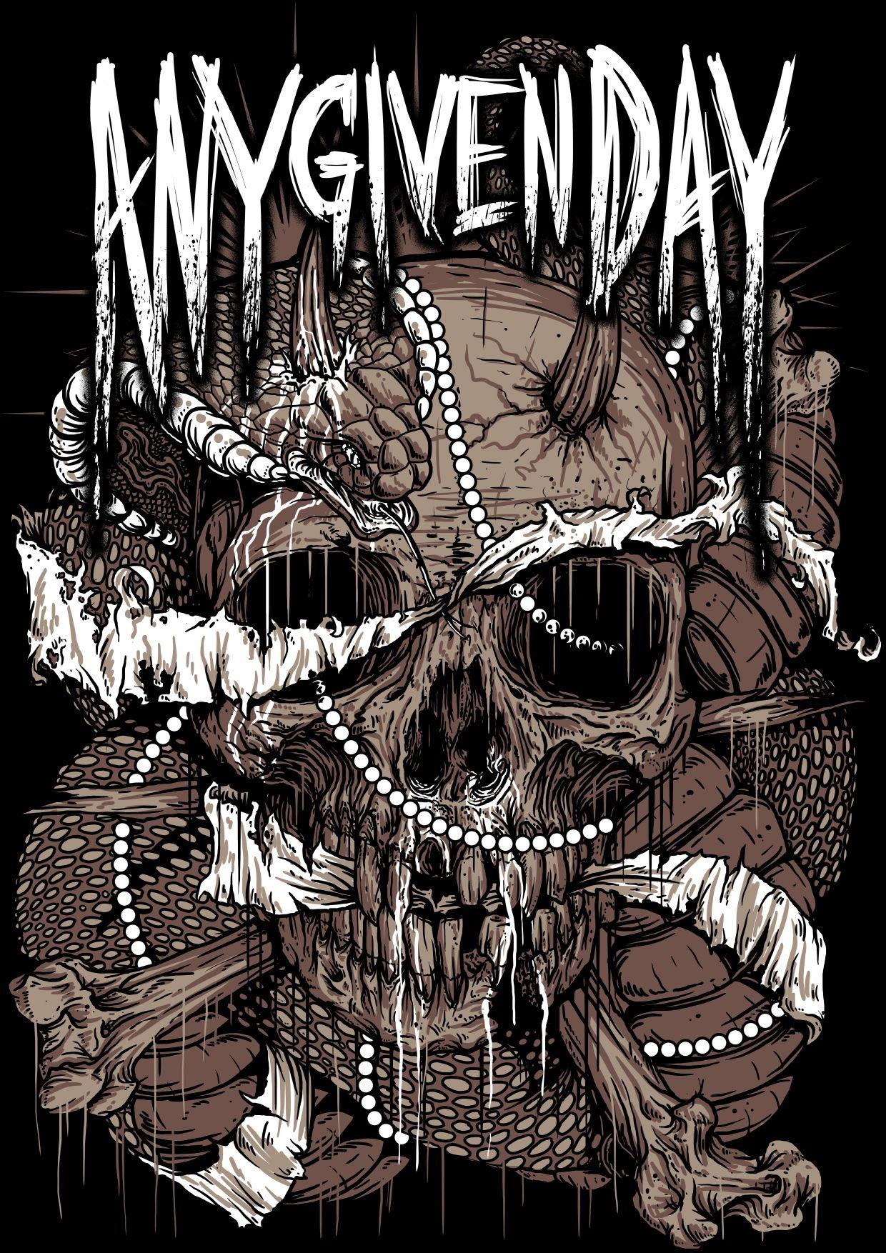 Agd anygivenday metal metalcore deathcore metalhead graveart ga
