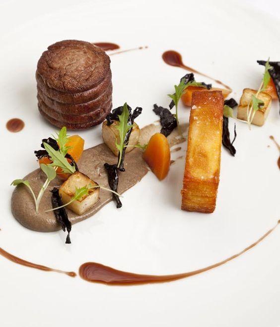Sous Vide Fillet Of Beef Recipe Great British Chefs Recipe Beef Fillet Recipes Fine Dining Recipes Food Plating