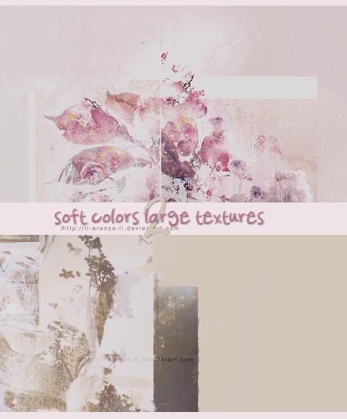 2 soft colors large textures p1 by ll-AranzA-ll.deviantart.com on @DeviantArt