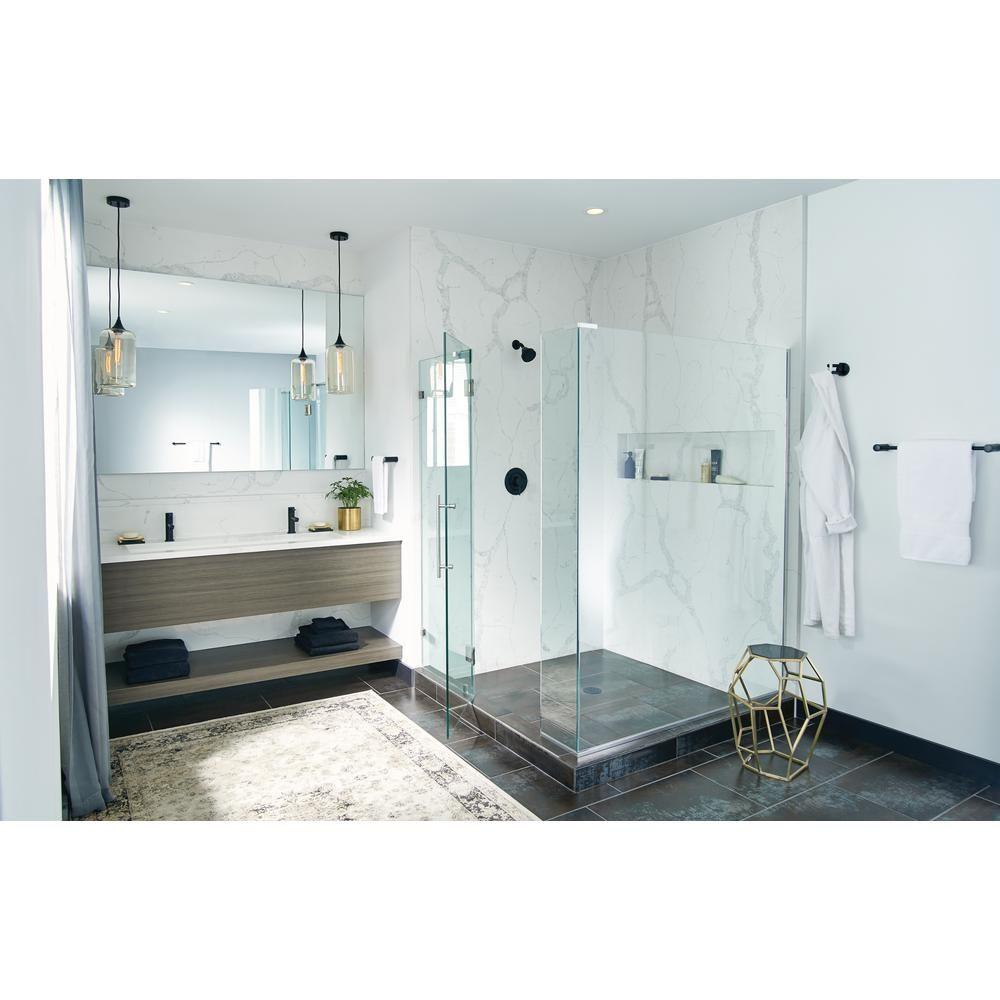 MOEN Align Level 1-Spray Eco-Performance Fixed Shower Head in Matte ...