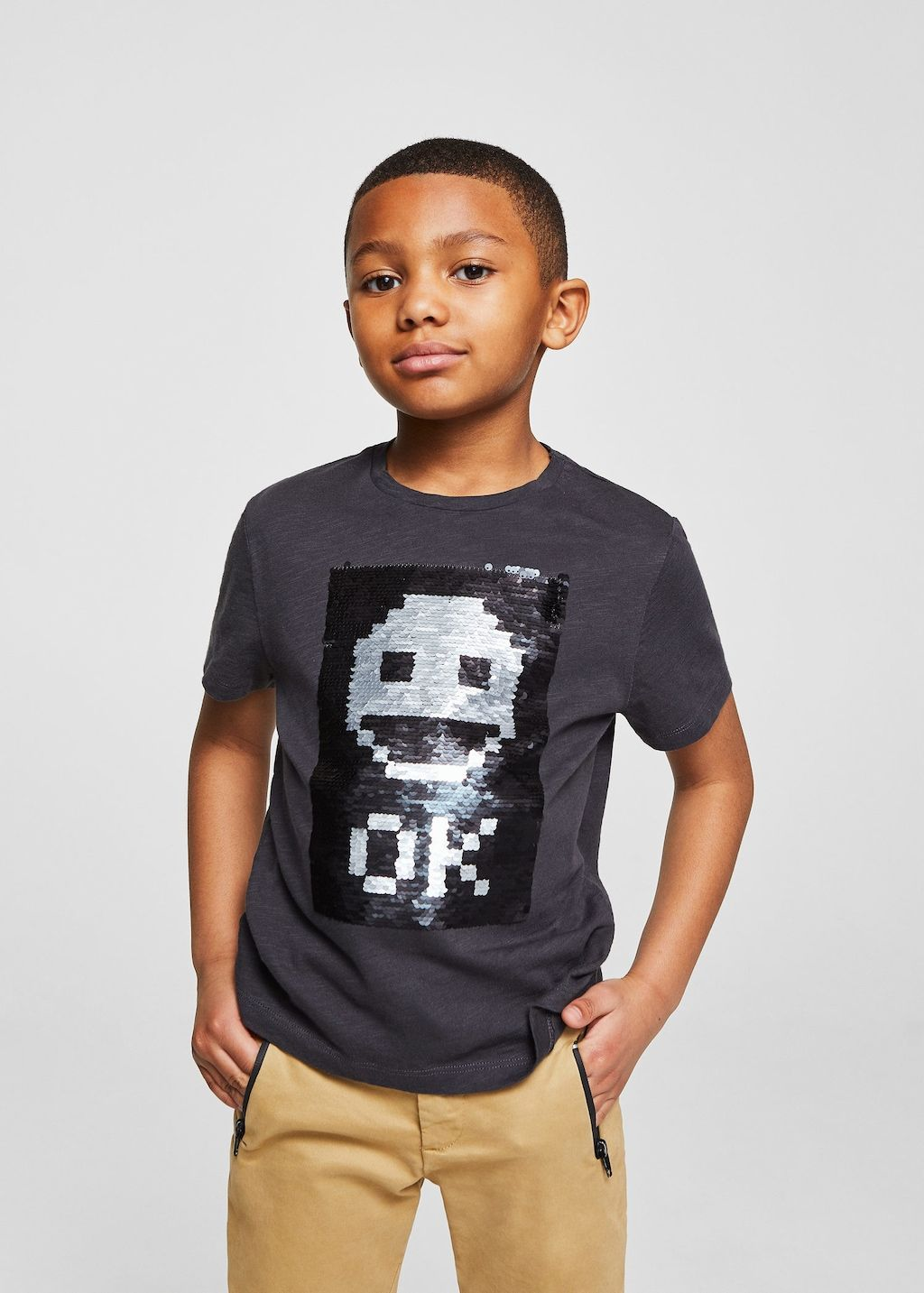 d5eca444d Reversible sequins t-shirt - Boys in 2019 | T graphic stuff | Sequin ...