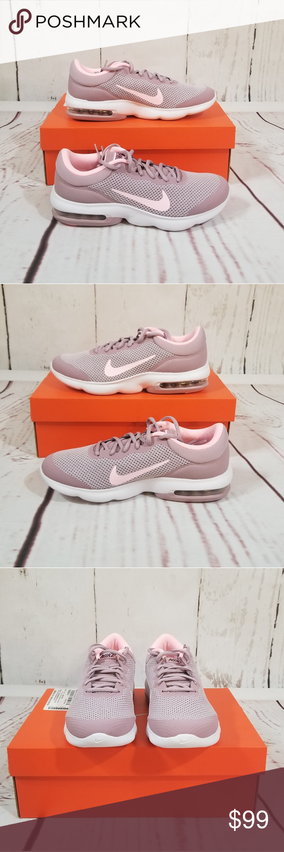 huge selection of d8d92 aae6b NIKE Air Max Advantage Women s Pink Trainers New in box Nike Air Max  Advantage woman s trainers. Size  10 Color  Elemental Rose Arctic Punch 🌺  Remember to ...