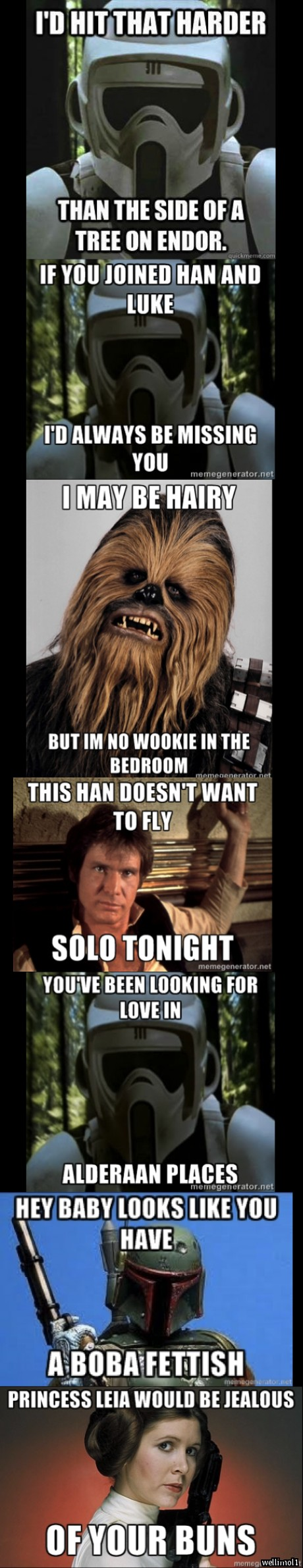 Star Wars Pickup Lines Pt 1 More To Come If You Guys Like Them Pick Up Lines Pic Up Lines Star Wars