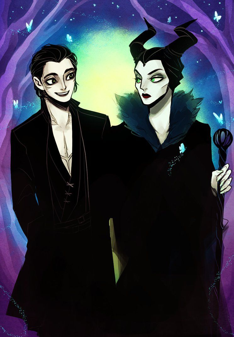 Diaval And Maleficent By Savvysleeves On Deviantart Disney
