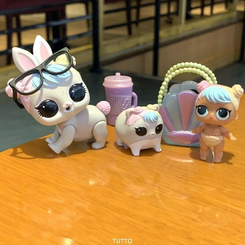 LOL Surprise Dolls Series 2 IT Baby Family /& lil sister collection Authentic toy