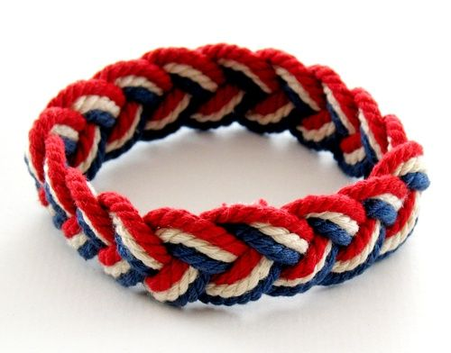 Sailor Knot Friendship Rope Bracelet