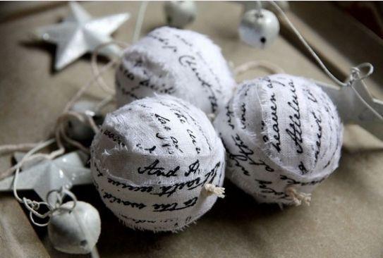 Fotogallery Decorazioni di Natale Shabby chic - Foto 9 - Donnaclick
