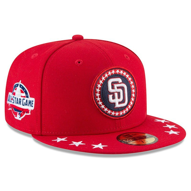 100% authentic 85fa1 f21c7 San Diego Padres New Era 2018 MLB All-Star Workout On-Field 59FIFTY Fitted