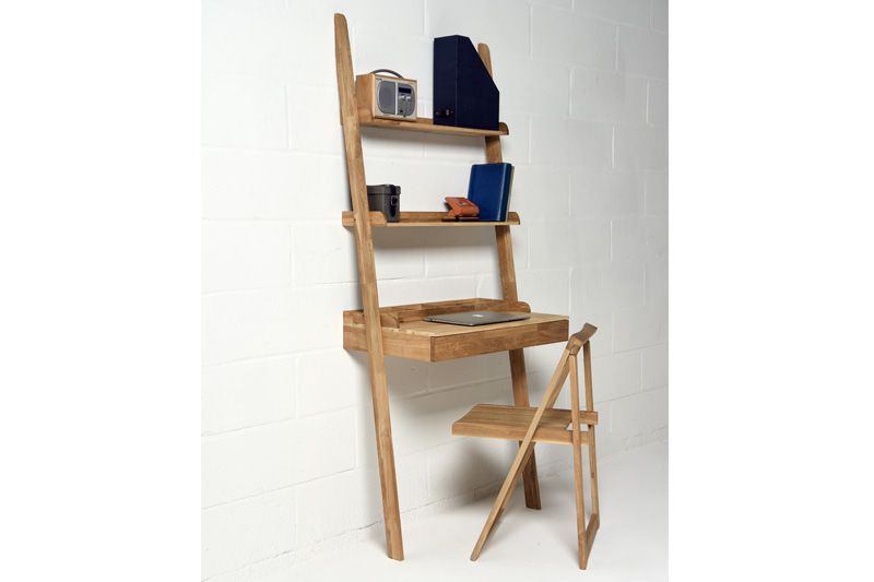 Incroyable Home :: Storage Furniture :: Leaning Furniture :: Oak Leaning Range :: Oak  Ladder Desk