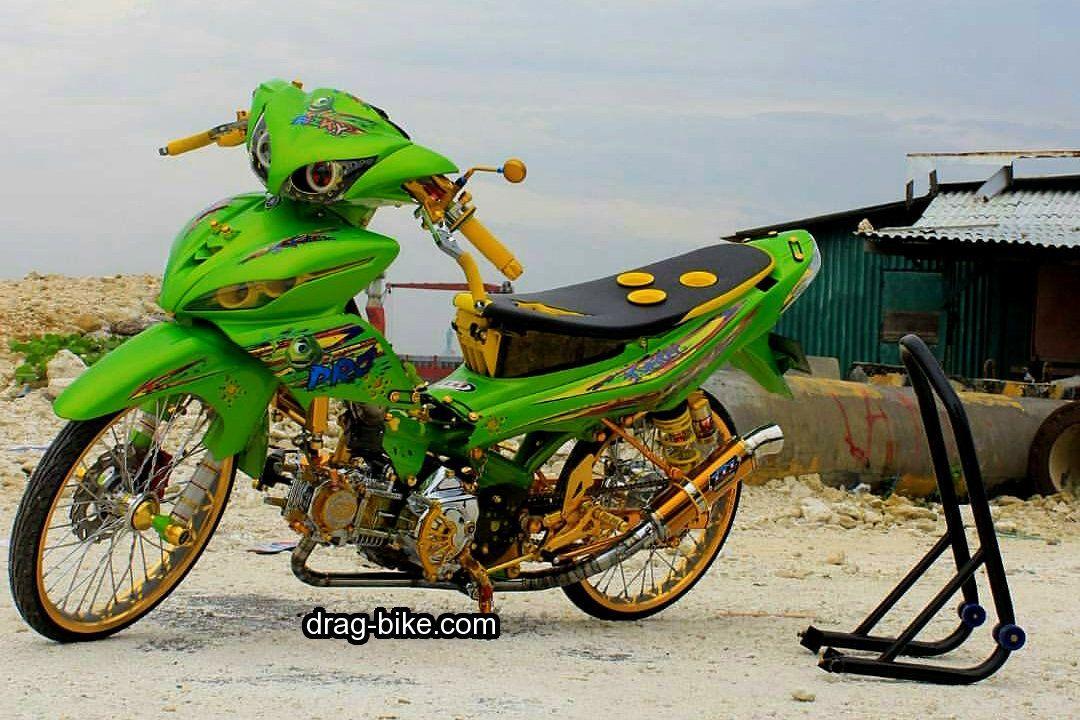 40 Foto Gambar Modifikasi Jupiter Z Kontes Racing Look Jari Jari Drag Bike Com Gambar Gambar Tokoh