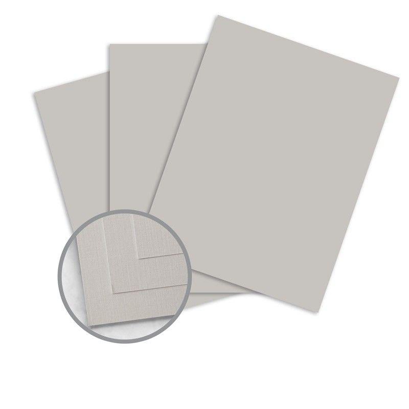 Nekoosa Linen Gray Paper 8 1 2 X 11 In 24 Lb Writing Linen 30