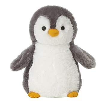 Destination Nation Gray Penguin Stuffed Animal By Aurora Plush And