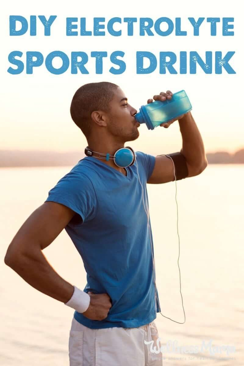Natural Sports Electrolyte Drink Recipe (With Flavor