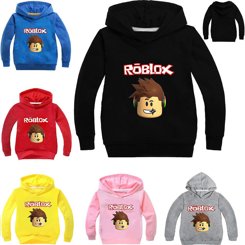 ROBLOX spring autumn kid boy cartoon casual fashion zipper jacket coat 4-12T NEW