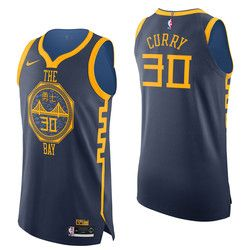 6c598a75a Golden State Warriors Nike City Edition Authentic Jersey - Stephen Curry -  Mens