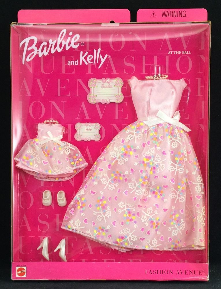 f6c4afc325 BARBIE FASHION AVENUE BARBIE AND KELLY AT THE BALL FASHION NIP  Mattel