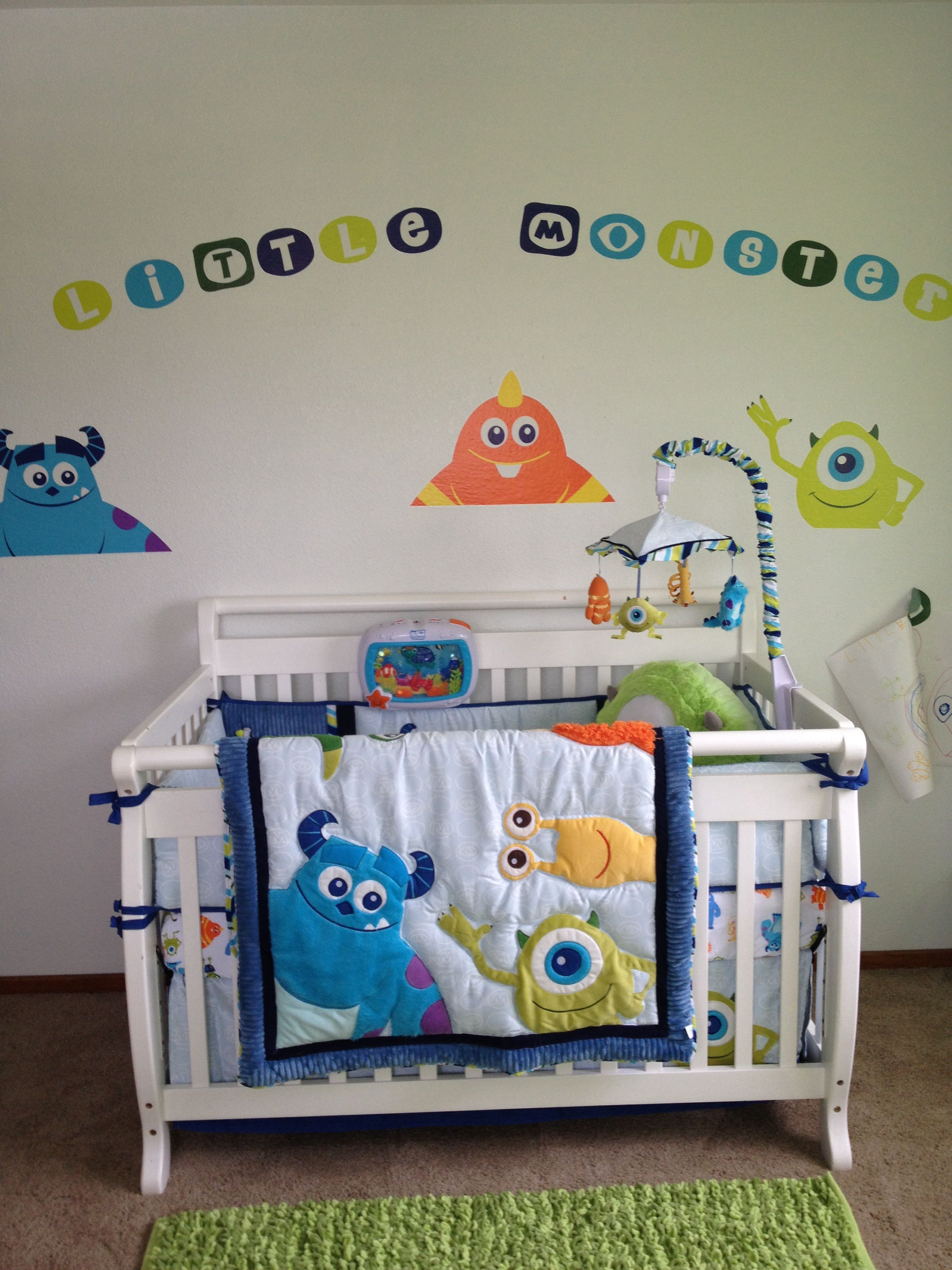 Monsters Inc Baby Baby Disney Baby Rooms Monsters Inc