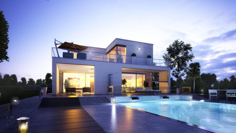 Bauhaus Stil bauhausstil okal haus hausansichten außen