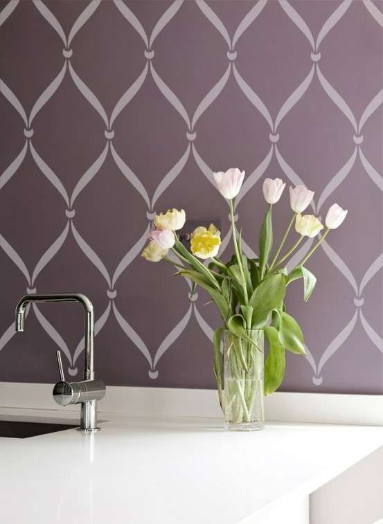Tutti gli stencil per le pareti consigliati da Design Mag ...